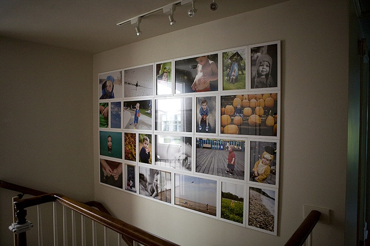 One of my favorite photographers gallery of personal photos in her home. WOW.