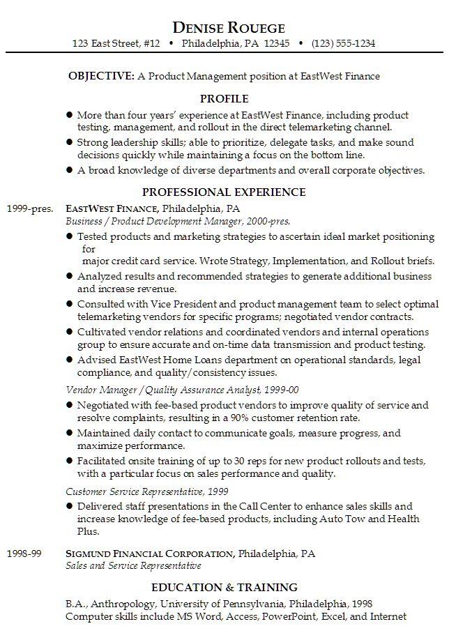Resume For Telemarketer - http://www.resumecareer.info/resume-for-telemarketer-13/