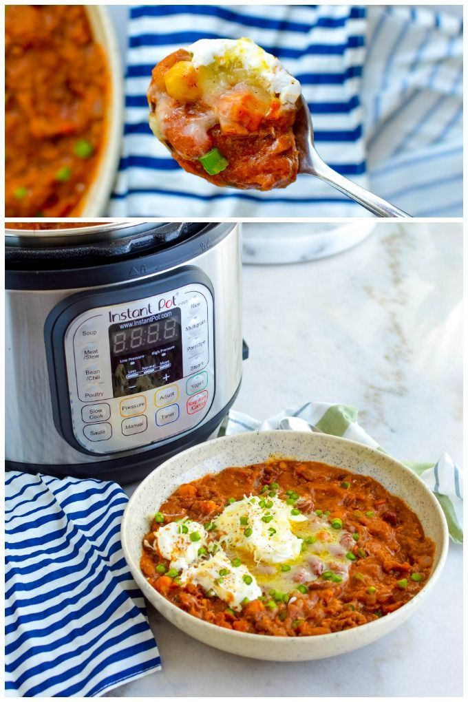 Instant Pot Beef Chili Recipe Instant Pot Beef Roast Beef Recipes Potted Beef