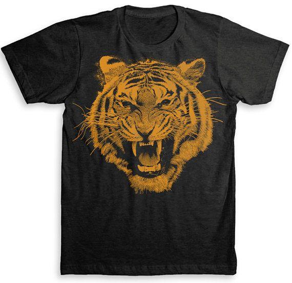Tiger T Shirt  TriBlend Vintage Fashion  by StrangeLoveTees, $24.99