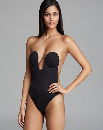 Fashion Forms U Plunge Backless Strapless Bodysuit   Bloomingdale's
