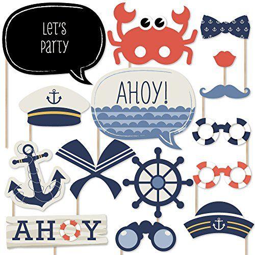 Ahoy - Nautical - Photo Booth Props Kit - 20 Count Big Do... https://www.amazon.com/dp/B00PZ3F7BE/ref=cm_sw_r_pi_dp_x_59XWybHVGQVYK
