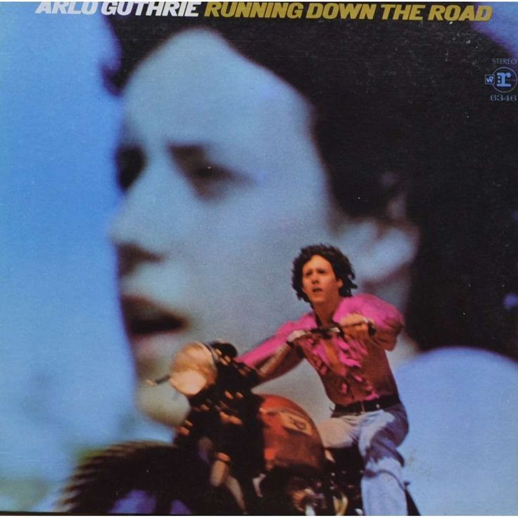 ARLO GUTHRIE RUNNING DOWN THE ROAD 33T Gatefold