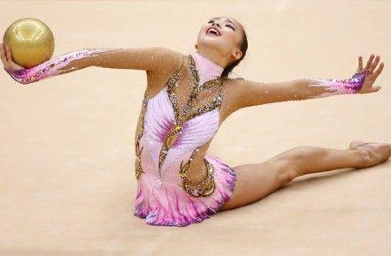 Nick Verreos: London 2012 Olympics Fashion Minute: Rhythmic Gymnastics Leotards Dazzle!