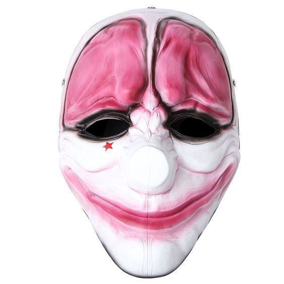 Payday2 Mask Clown Dallas Chains HOXTON Wolf Resin Mask Halloween Costumes >>> Want to know more, click on the image.
