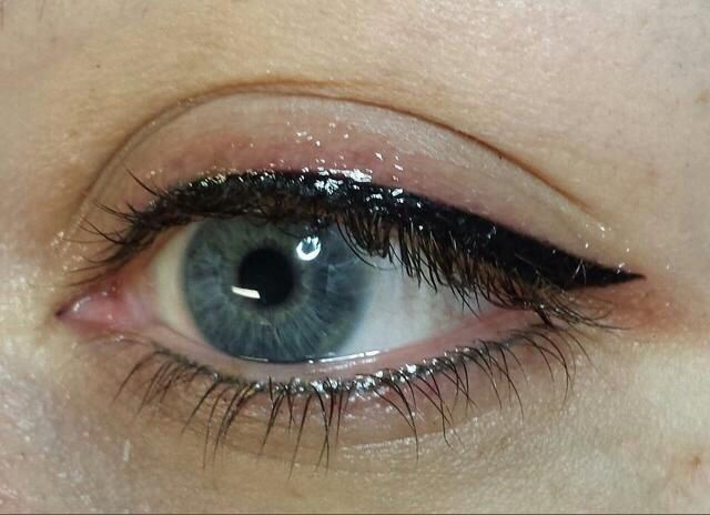 58 best eyeliner tattoo images on pinterest eyeliner tattoo tattoo makeup and eye liner. Black Bedroom Furniture Sets. Home Design Ideas