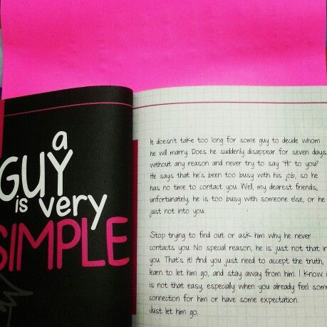 31 Guys 31 Lessons. Guy is not complicated