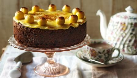 Simnel cake was traditionally given by servant girls to their mothers when they returned home on Mothering Sunday.