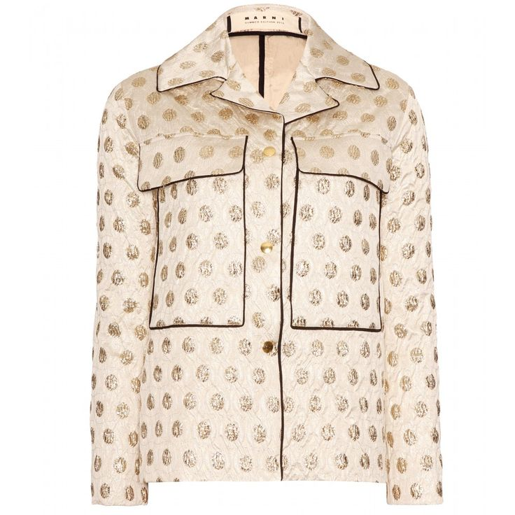 mytheresa.com - Marni Edition - METALLIC BROCADE JACKET - Luxury Fashion for Women / Designer clothing, shoes, bags