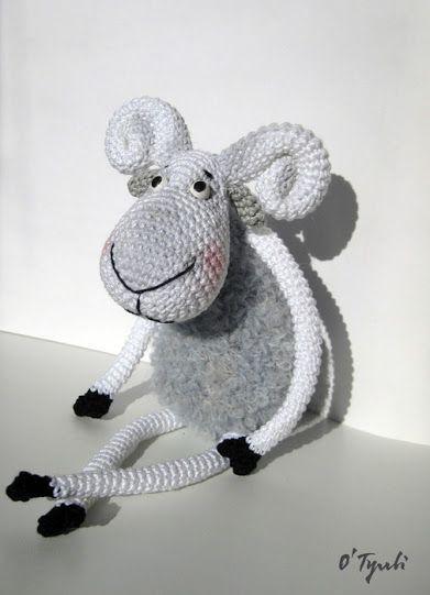 crochet goat, NO pattern