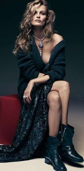 Edita Vilkeviciute for Vogue Germany December 2010