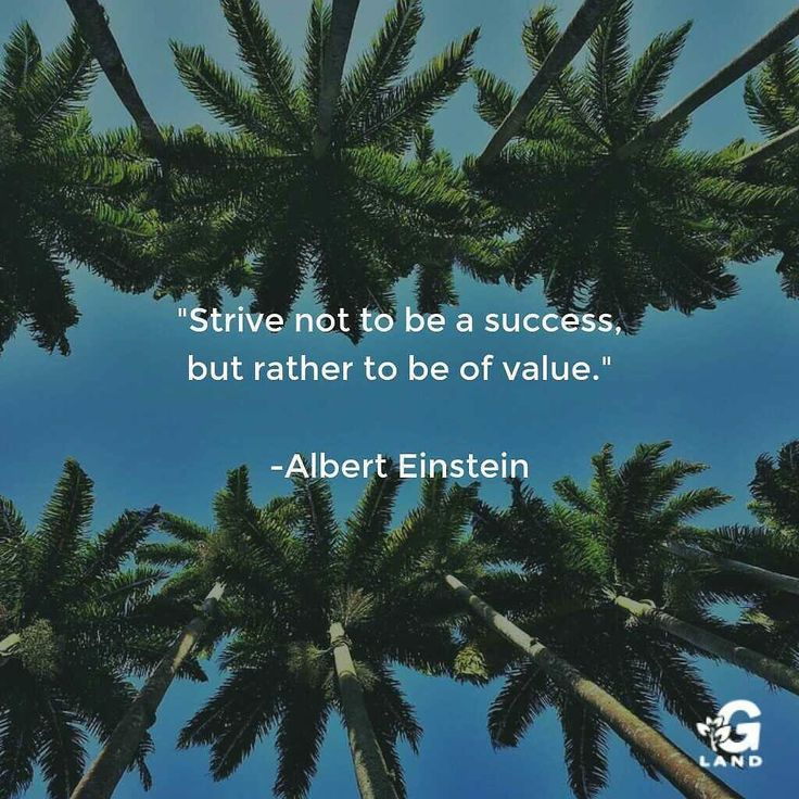 """Strive not to be a success but rather to be of value."" #quote #quotes"