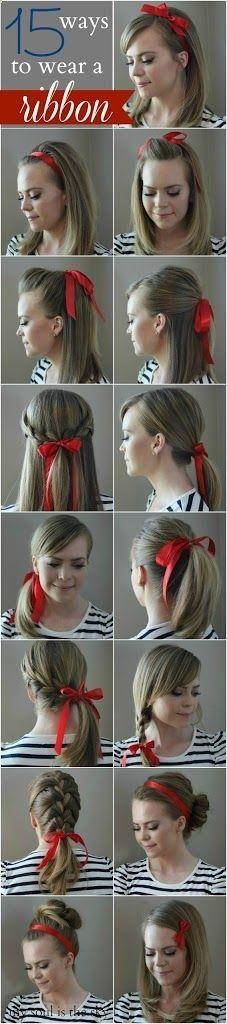 15 Ways to Wear a Ribbon - Missy Sue