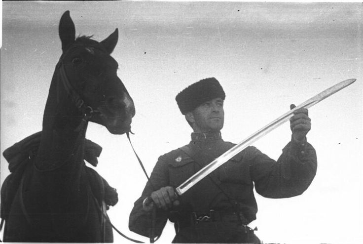 Soviet cavalryman