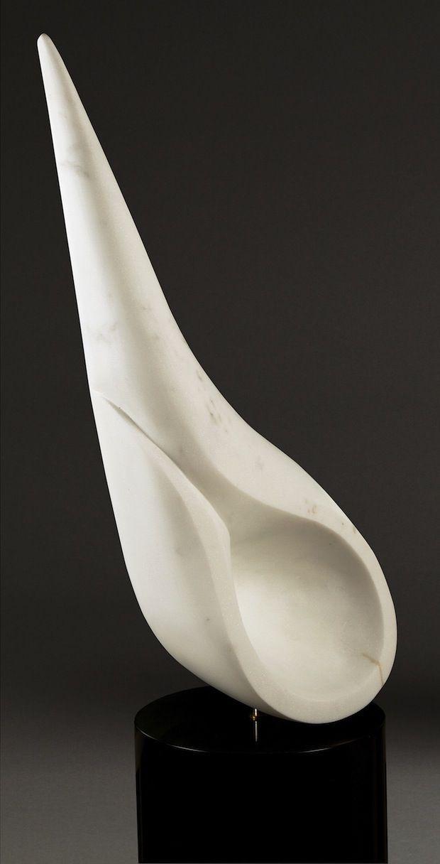 Tear Drop Askew, Calacatta Carrara Marble, 2006. Photo Credit: D. A. Brown Photography