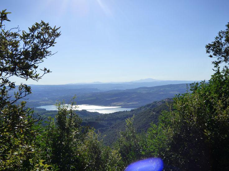 Ciao a tutti con questo paesaggio Umbro,lago di Corbara