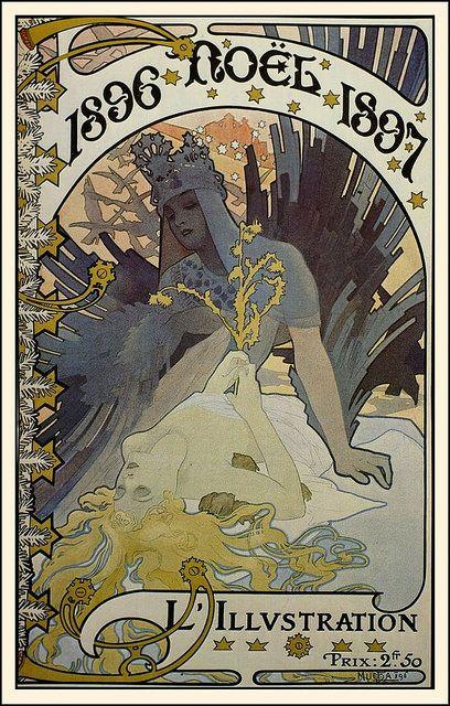 L'Illustration, Alfons Mucha, 1896-1897