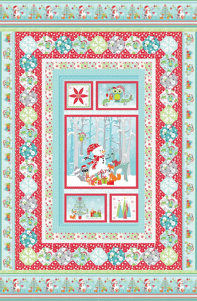 Baby Quilt Patterns Using A Panel : 80 best images about Panel quilts on Pinterest Free pattern, Quilt and Quilting fabric