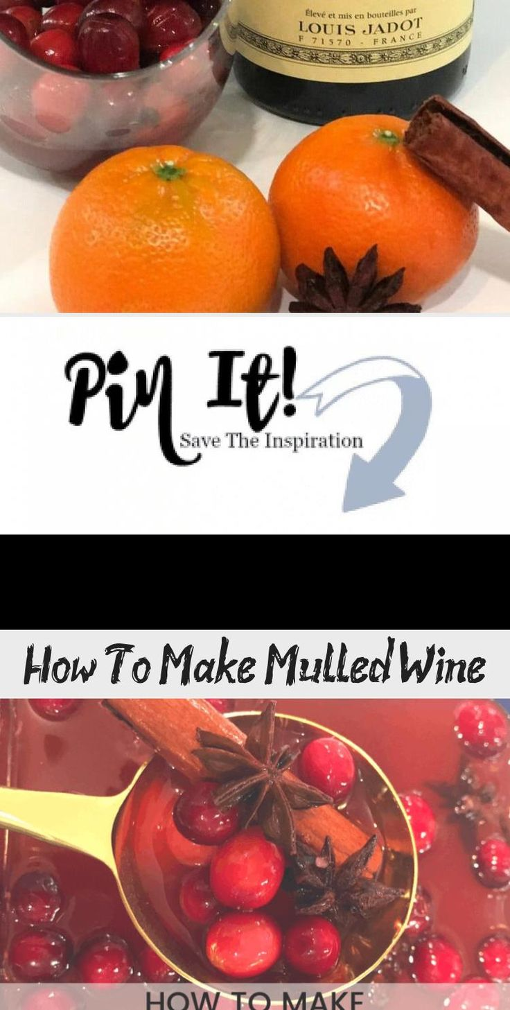 Delicious recipe for mulled wine a lovely warm winter