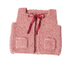 Babies Knitting Patterns Baby Vest Knitting Pattern