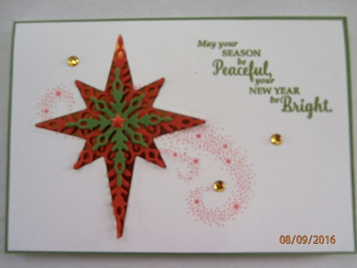 Star of Light bundle Stampin Up Holiday Catalogue 2016