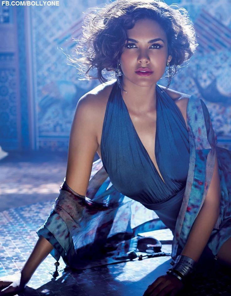 Esha Gupta - Elle India Magazine -  May 2014 ***