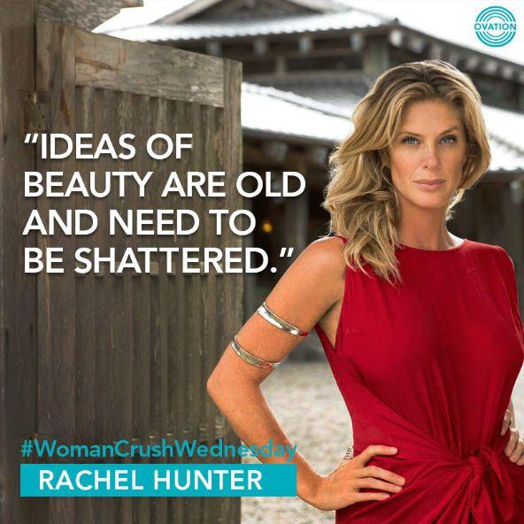 #WCW: Rachel Hunter