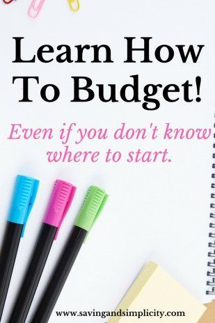 Learn how to budget, even if you don't know where to start. Learn how to calculate your income and expenses. Learn how to pay off your debt.