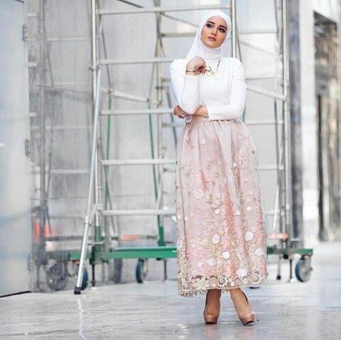 Instagram photo...long skirt...dalalid ...hijab style
