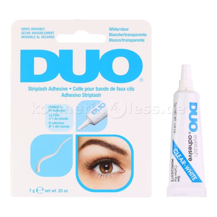 DUO - Wimpernkleber für Wimpernbänder - Eyelash Adhesive - 7g - Transparent - Kosmetik & Falsche Wimpern