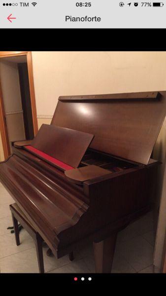 Pianoforte Rosler mezza coda