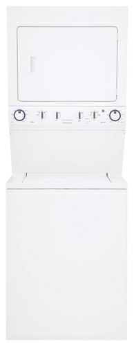 Frigidaire - 3.8 Cu. Ft. 9-Cycle Washer and 5.5 Cu. Ft. 9-Cycle Dryer Electric Laundry Center - Classic White