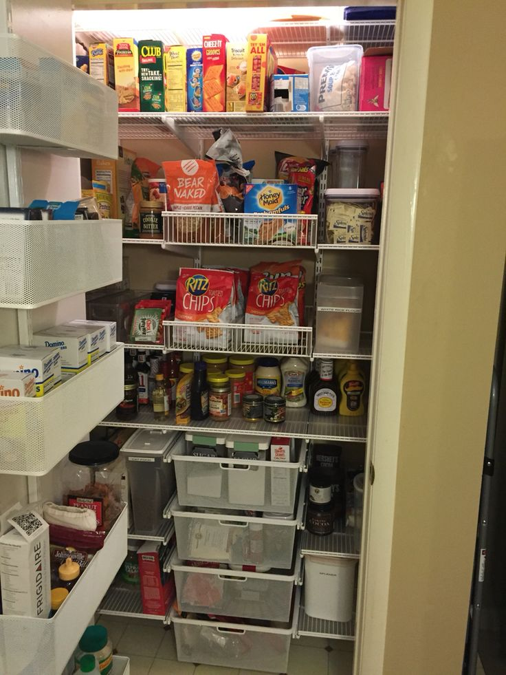 55 Best Elfa Pantry Images On Pinterest Container Store