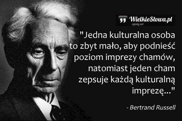 Jedna kulturalna osoba to zbyt mało... #Russell-Bertrand,  #Obyczaje-i-moralność