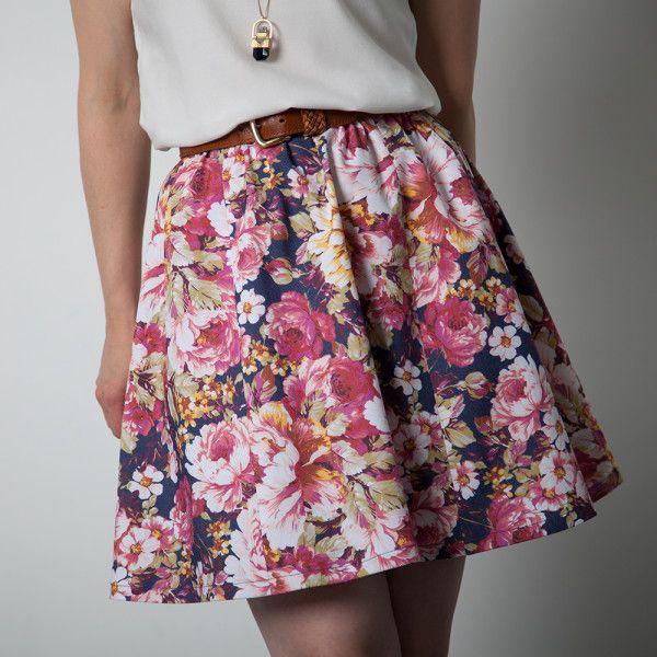rae skirt beginner sewing pattern