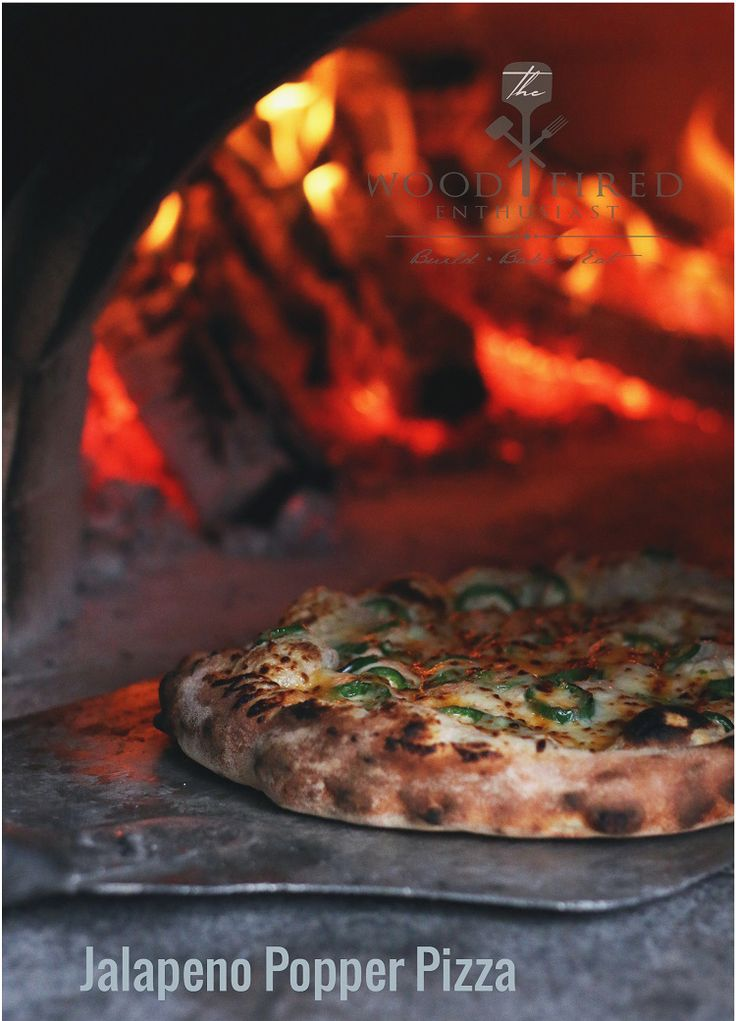 Wood-fired oven Jalape�o Popper Pizza recipe from Matt Savigny - The Wood Fired Enthusiast