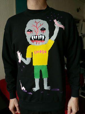 LIKE MIKA'S - Shoboshobo Sweatshirt like Mika wore for a 2007 photoshoot