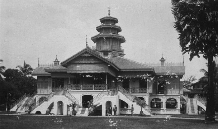 1921_Palace of the Sultan of Langkat, Tandjoengpoera