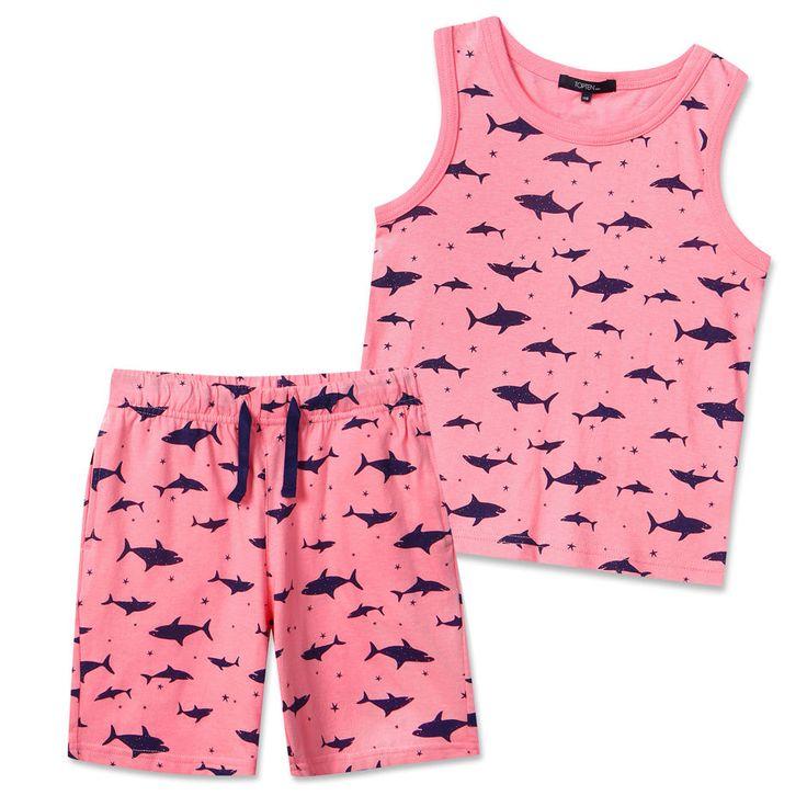 Topten10 KIDS UNISEX Tanktop Cotton Top Bottom Outfits Set #Topeten10 #Everyday
