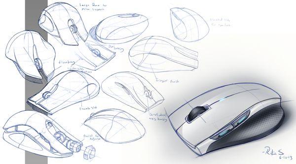 Sketchbook by Rotimi Solola, via Behance.