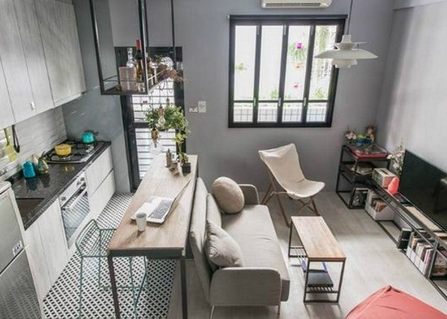 Λιλιπούτεια διαμερίσματα: Πώς να κάνεις το μικρό σπίτι σου να μοιάζει με stylish έπαυλη