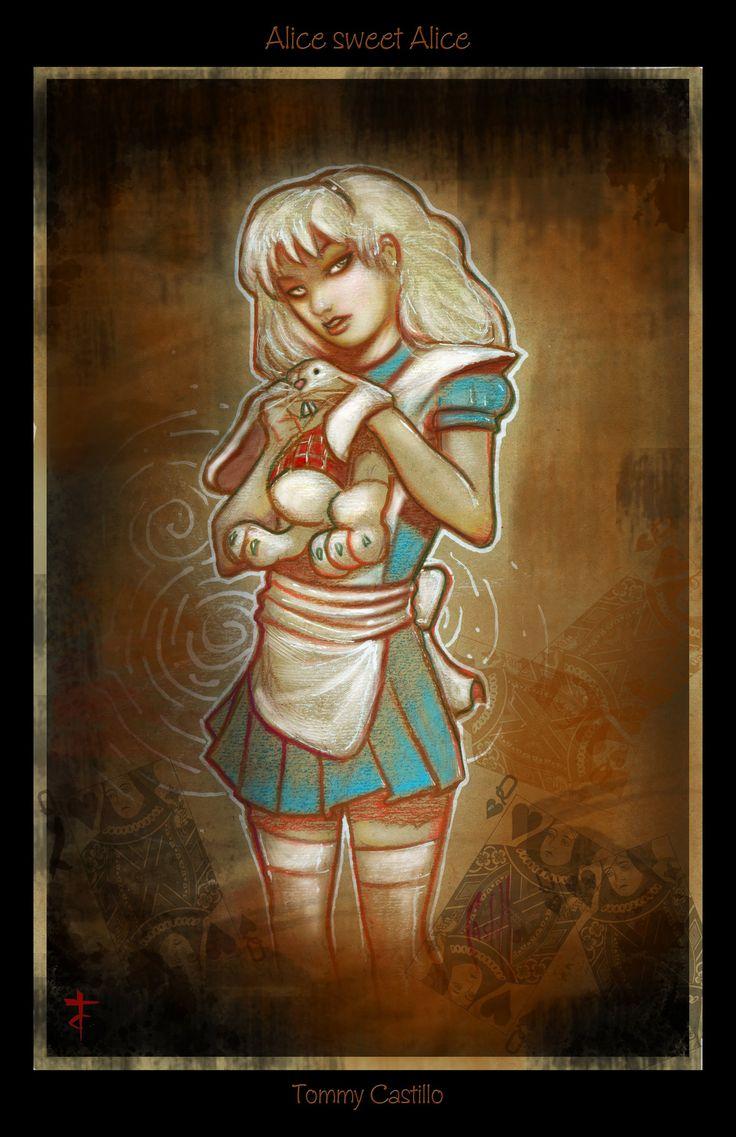Tommy Castillo Signed Art Print - Alice, Sweet Alice 11x17 (11x17 in)