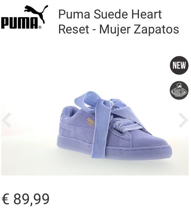 Puma Suede Heart Reset (Footlocker)