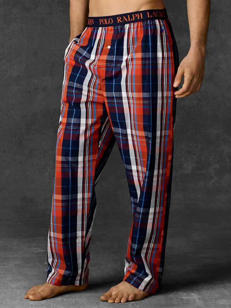 Drake Plaid Sleep Pant - Sleepwear & Robes   Men - RalphLauren.com