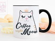 Kubek Coffee right meow