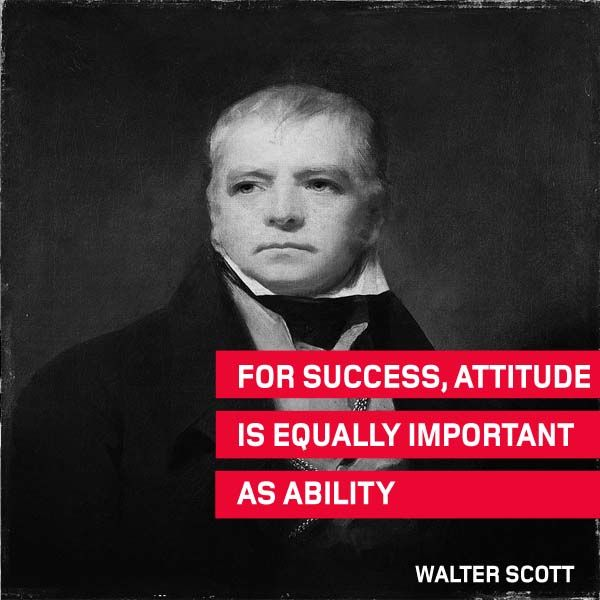 The #ThoughtOfTheWeek for June 8 is from Walter Scott