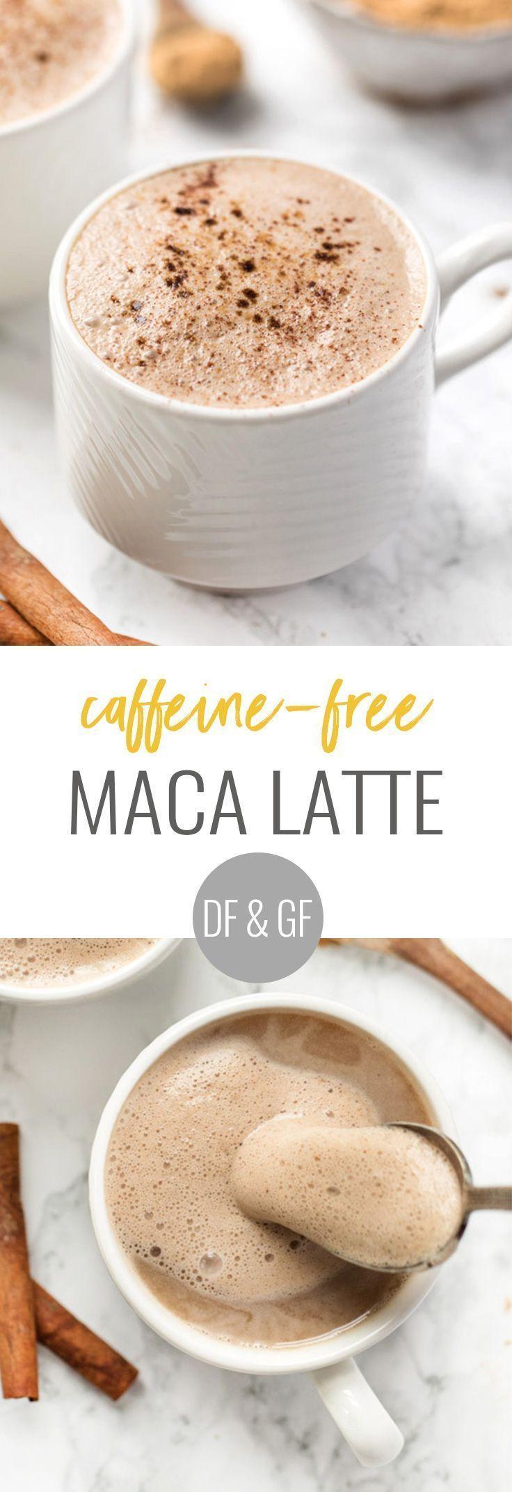 Zubereitung eines koffeinfreien Maca Latte mit nur 5 Zutaten | Vegan & Koffein …   – Vegan Lattes