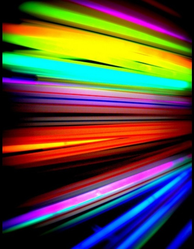 Fun things to do with glow sticks: http://jamiebrock.hubpages.com/hub/Fun-Things-to-do-with-Glow-Sticks