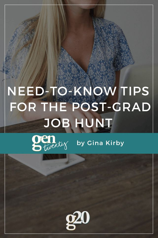 If you didn't land a full-time job for after college, it's okay! Here is what you need to know when searching for a job post-grad.