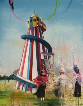 Till Gerhard,  Healter - 2007 - Oil on canvas - 280 x 220 cm